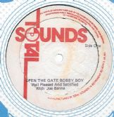 Well Pleased & Satisfied - Open The Gate Bobby Boy / Open Version (Total Sounds) UK 12""